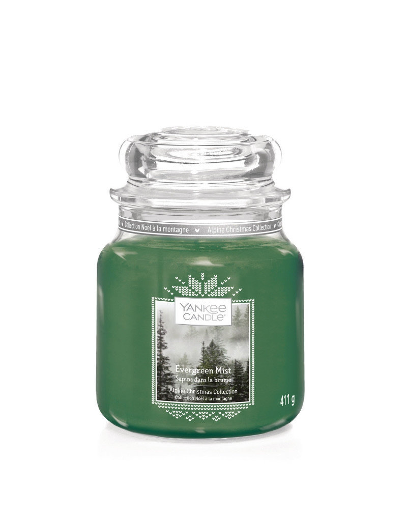 Yankee Candle Evergreen Mist Yankee Candle Medium