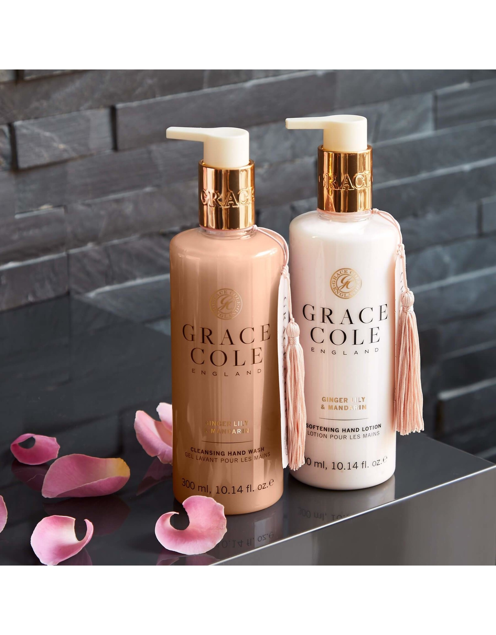 Grace Cole Hand care duo Ginger Lily & Mandarin