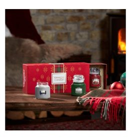 Yankee Candle Alpine Christmas 3 small Jars Giftset