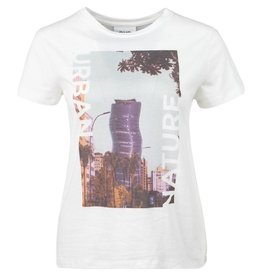 CKS T-shirt Layla off white