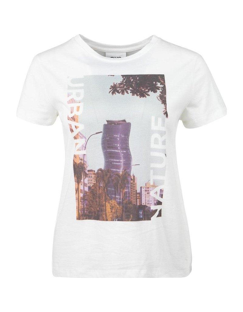 CKS T-shirt Layla off white
