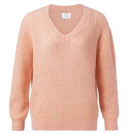 YaYa 1000230-011 Sweater Papaya