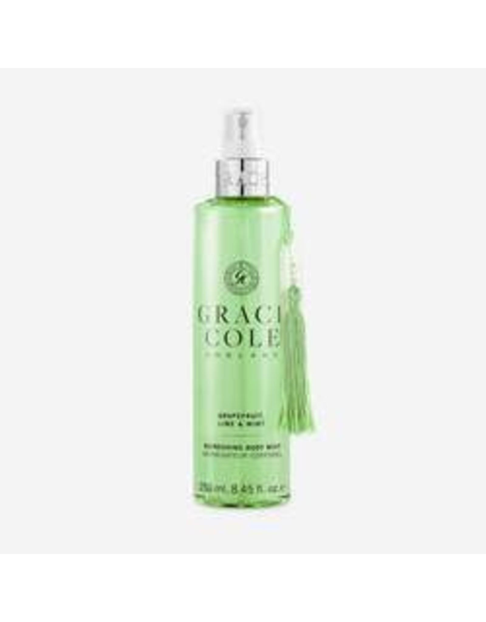 Grace Cole Body Mist Grapefruit, Lime&Mint