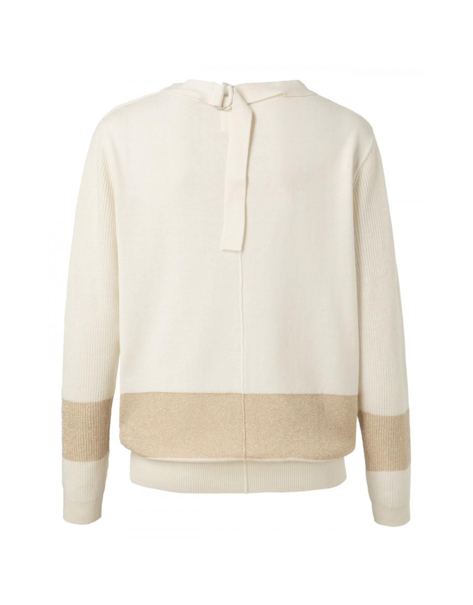 YaYa 1000249-013 Lurex Sweater