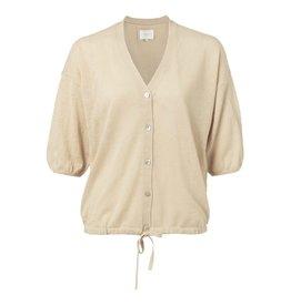 YaYa 101064-013 Cotton linen blend cardigan
