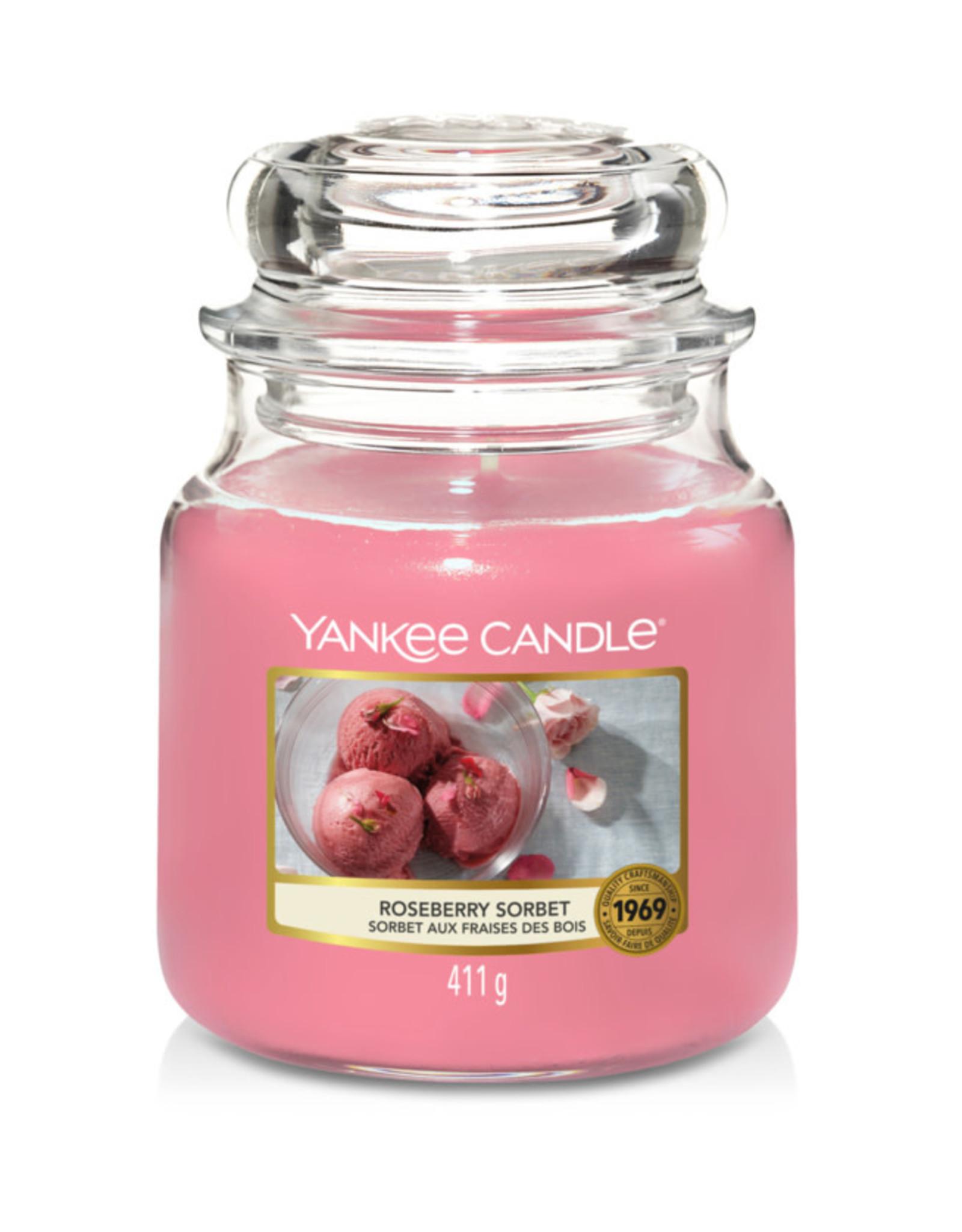 Yankee Candle Roseberry Sorbet Yankee Candle Medium