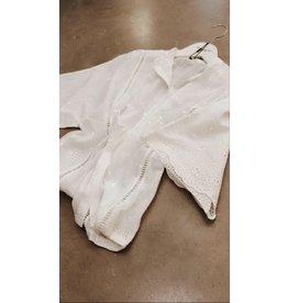 YaYa 1101173-014 Shirt Broderie blanc de blanc