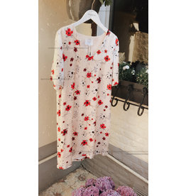 YaYa 180165-912 Kleedje met rode bloem