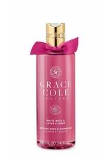 Grace Cole Bath&Shower White Rose& Lotus Flower