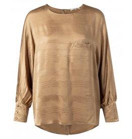 YaYa Blouse 1901302-021 Sand Gold