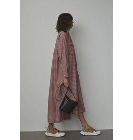 Closed Dress Lina Mahogany