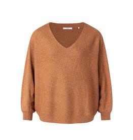 YaYa Sweater camel melange