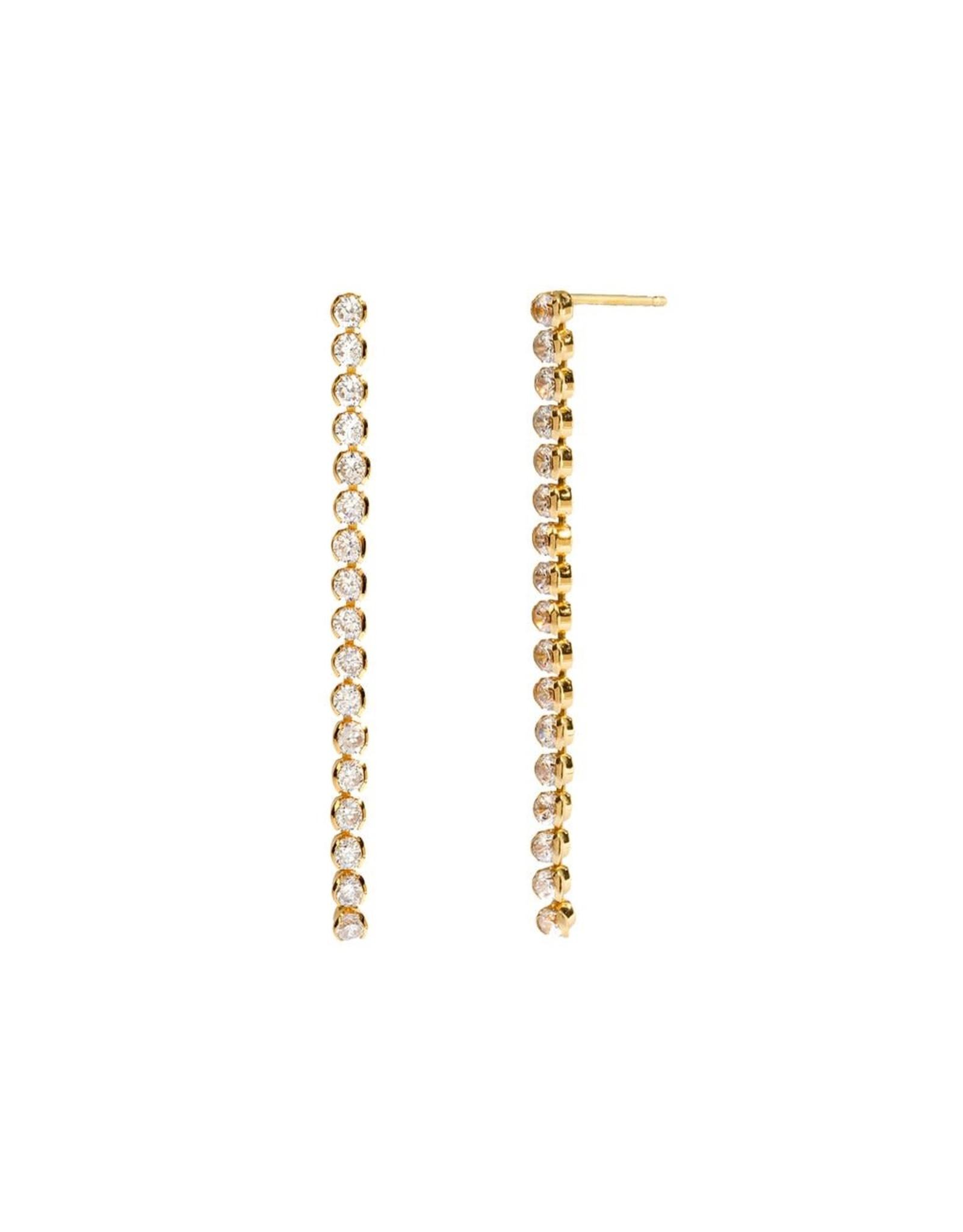 Aleyolé Earring Kira-Kira gold