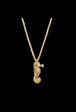 Aleyolé Necklace Seahorse gold