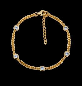 Aleyolé Bracelet Temperance gold