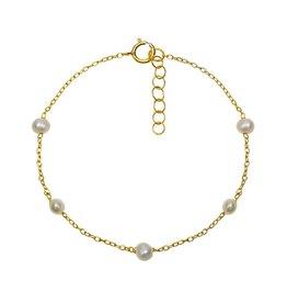Aleyolé Bracelet Satin Gold