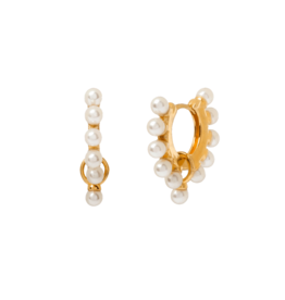 Aleyolé Earring Amelie gold pair