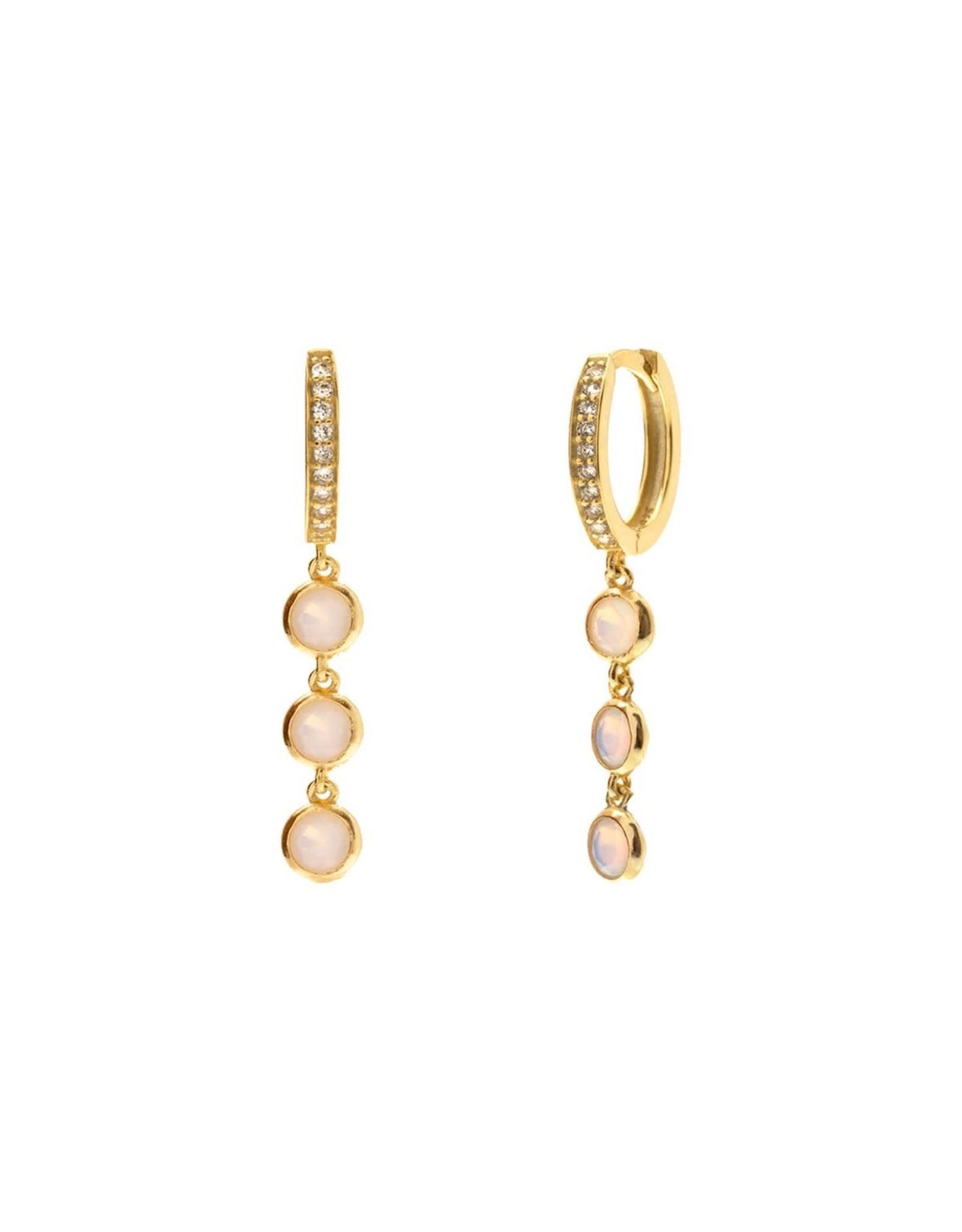 Aleyolé Earring Cinderella gold
