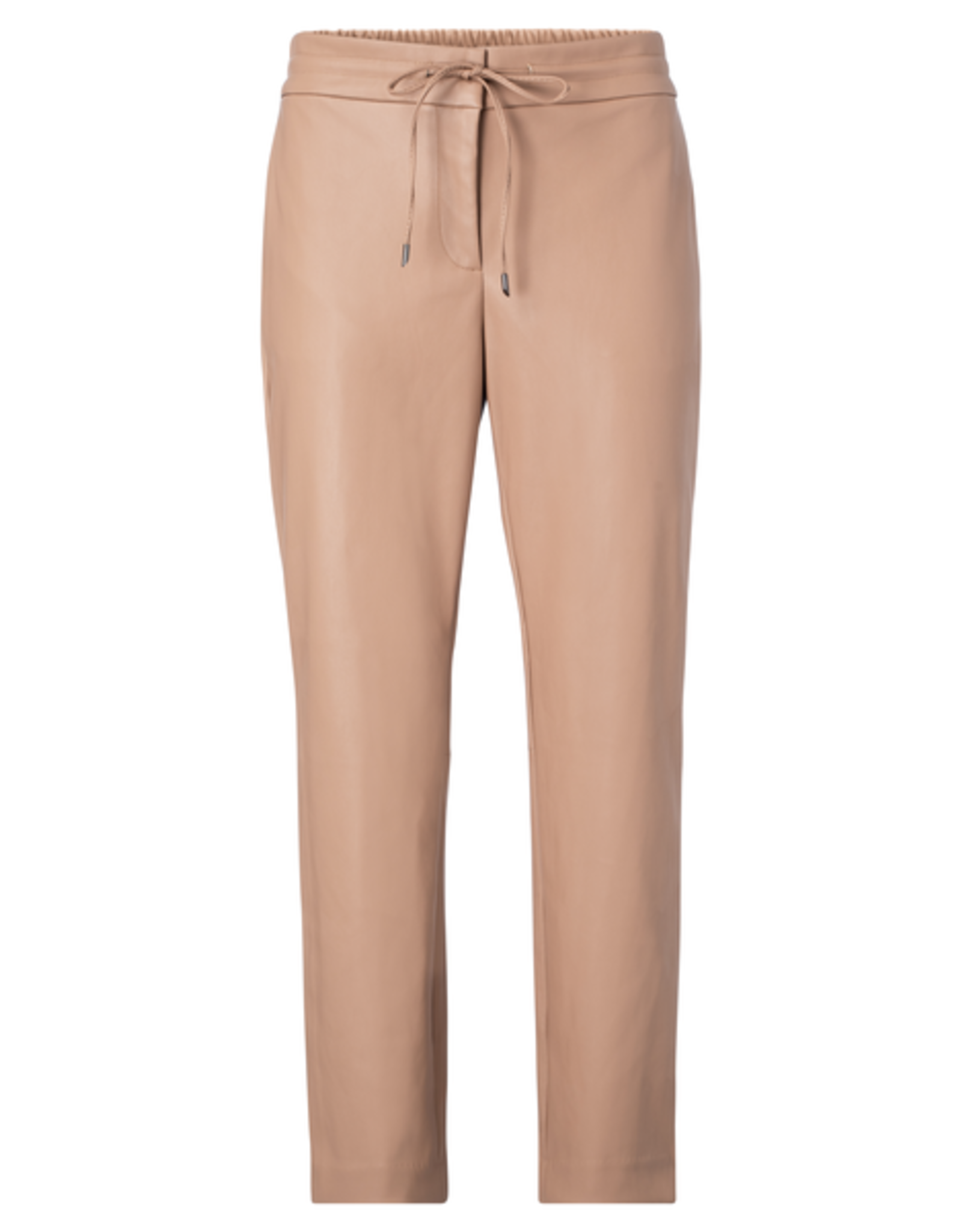 YaYa Vegan leather relaxed fit Trousers