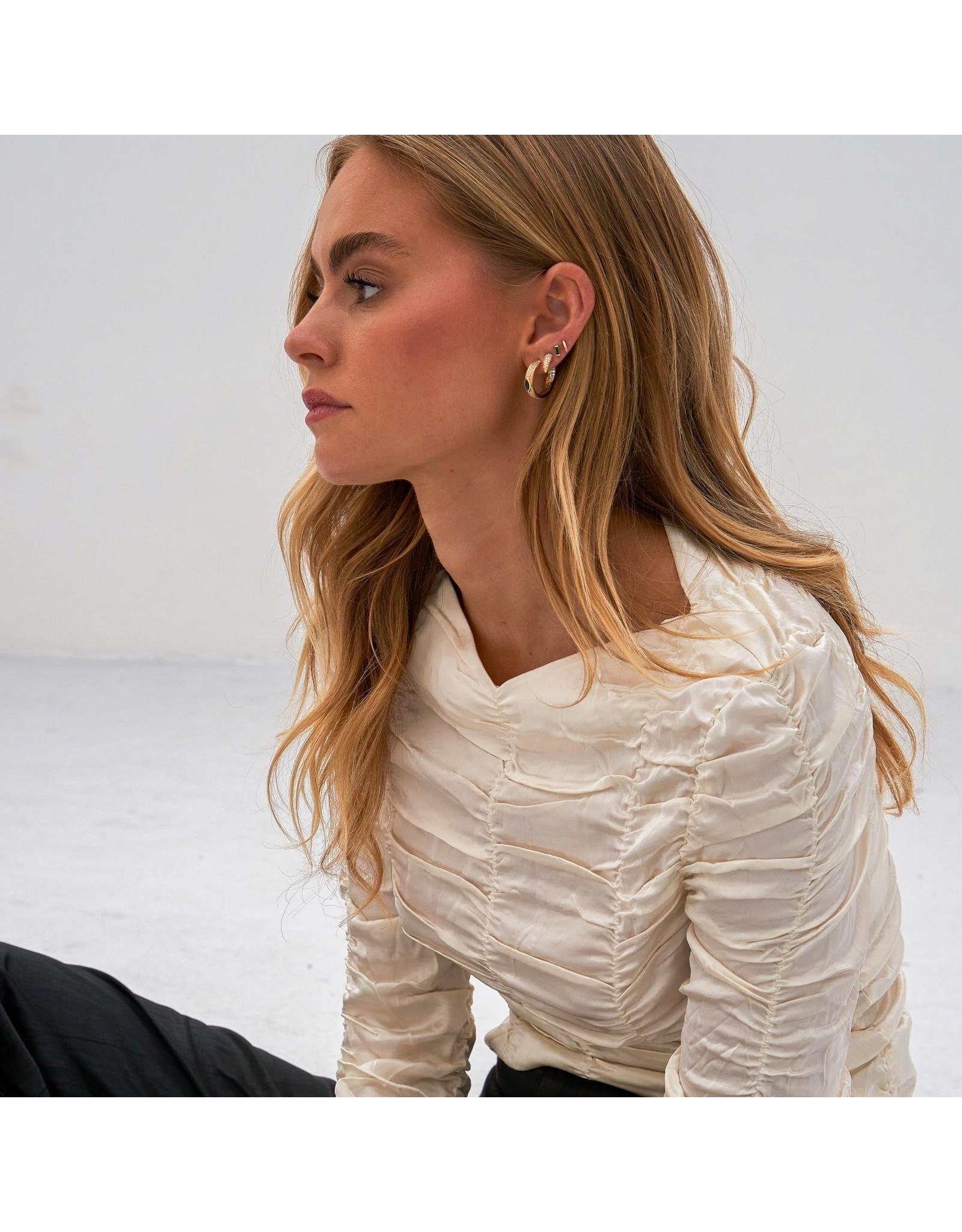 Eline Rosina Tiny Tusk earring