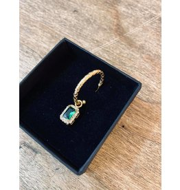 Eline Rosina Emerald collection Single Pendant Square