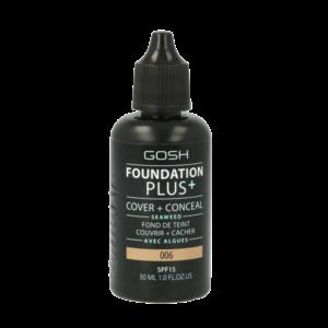 Gosh Foundation Plus+ 006 Honey