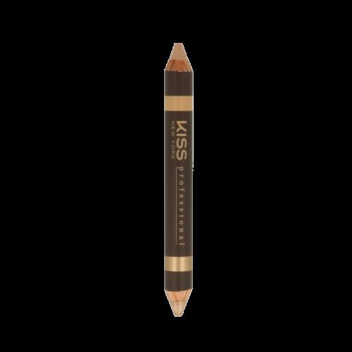 Kiss Top Brow Highling Pencil Duo