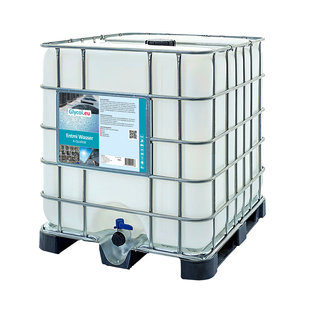 Demineralized Water - 1000L IBC
