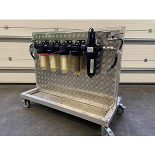 Mobile Glycol-Filter and Disinfection System