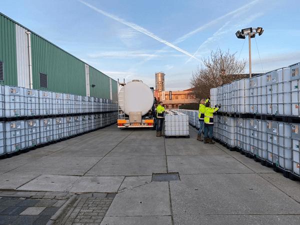 Erfolgreiches Projekt 50.000 L Propylenglykol + Osmose Wasser