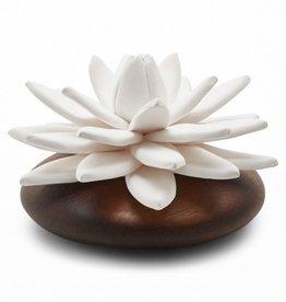 Ceramic flower perfume diffuser - Indian Lotus