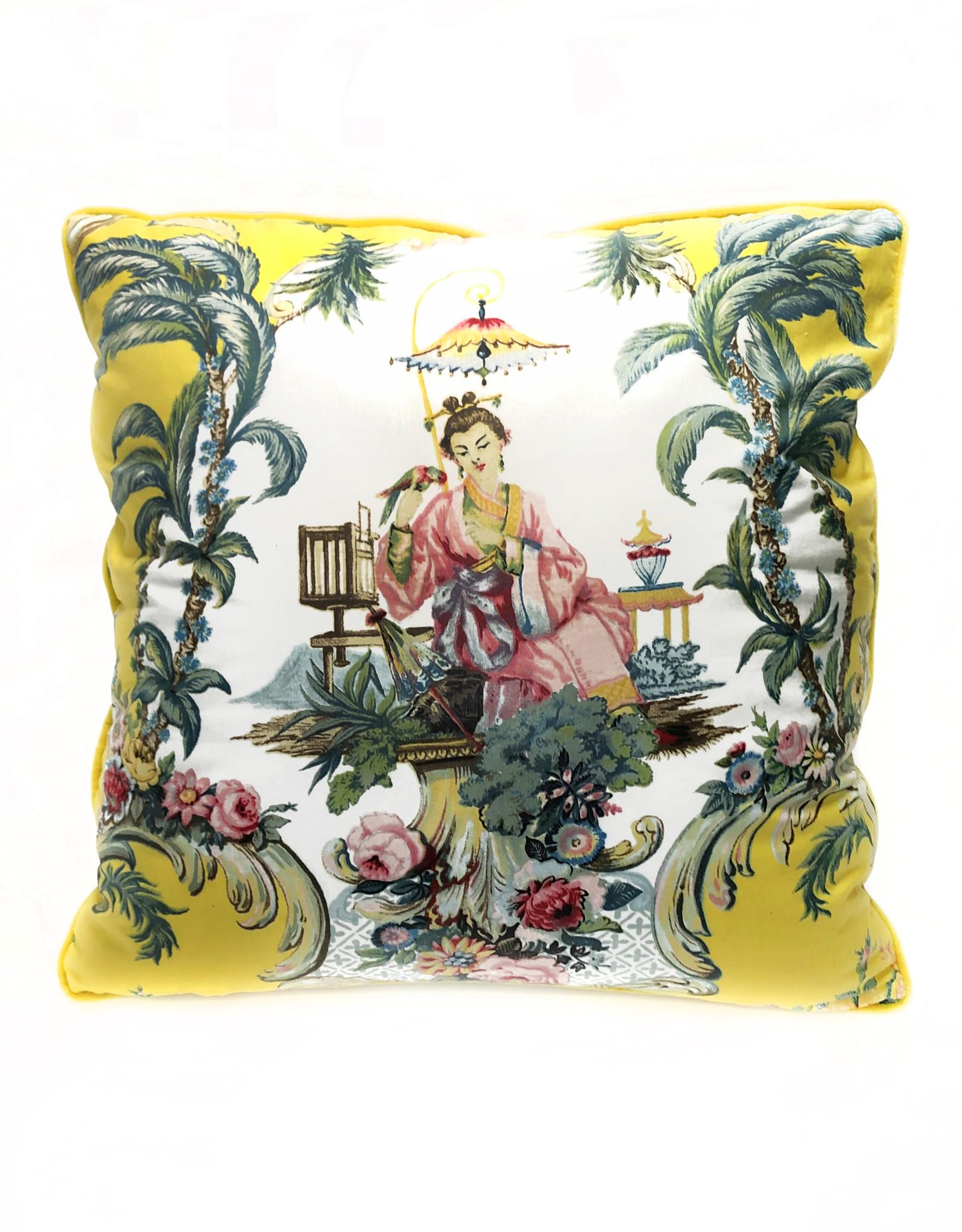 """Liv & Dols Pillow """"Madam Chena"""""""