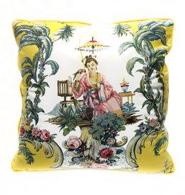 """Liv & Dols Pillow """"Madam Chena"""" - 48 x 48 cm"""
