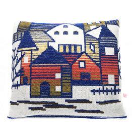 """Liv & Dols Pillow """"Zakynthos yellow"""" - 48 x 50 cm"""