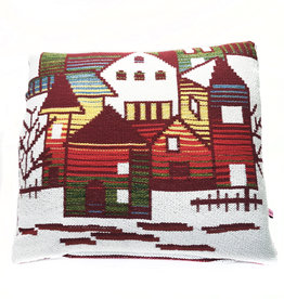 "Liv & Dols Pillow ""Zakynthos plum I"" - 48 x 50 cm"