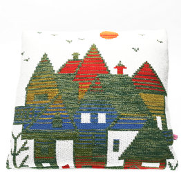 "Liv & Dols Pillow ""Zakynthos green I"" - 48 x 50 cm"
