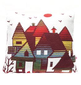 "Liv & Dols Pillow ""Zakynthos plum II"" - 48x50 cm"