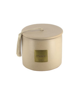 Côté Bougie Oriental scented candle in beige terracotta jar – S