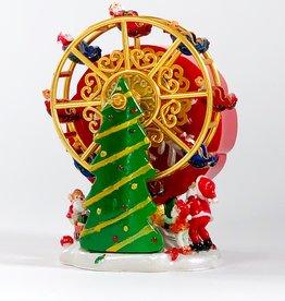 Musical Christmas ferris wheel