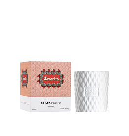 Claus Porto Favorito - red poppy scented candle