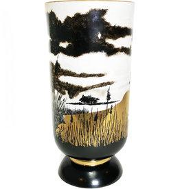 Nicholas Blandin Nicholas Blandin sunset Lake vase