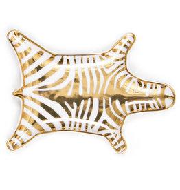 Jonathan Adler Zebra stacking dish - Gold