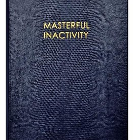 Sloane Stationary Masterful inactivity - Wise Man Collection Notebook