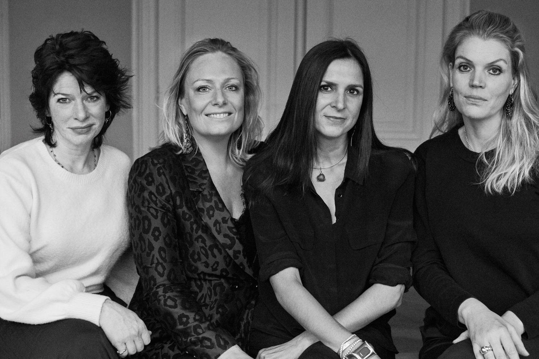 Germaine Seijger, Marlies Boomsma, Amanda Jongsma en Marieke Ariens