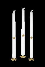 Boncoeurs Stars candle decoration box, 3 pc
