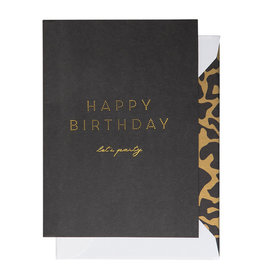 Cardsome Happy birthday -  let's party card
