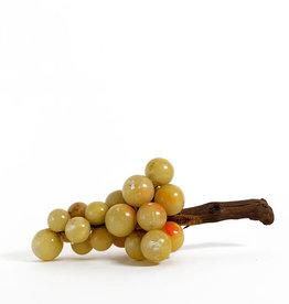 Vintage bunch of alabaster grapes