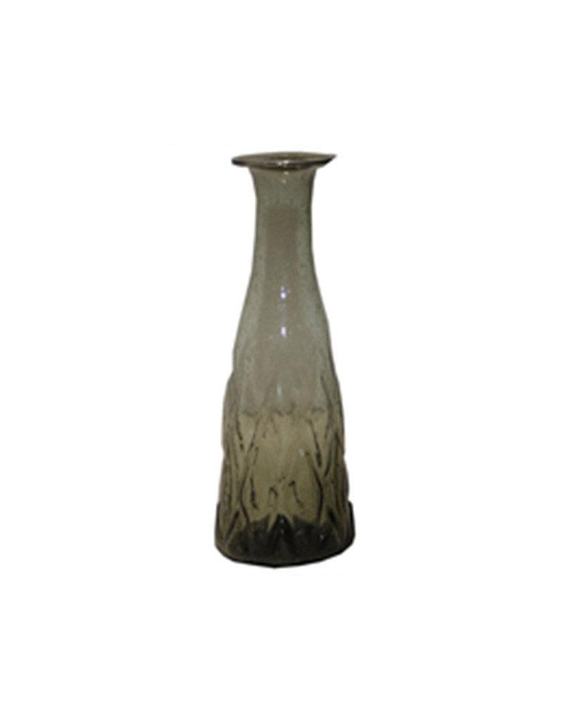 Smoke glass vase