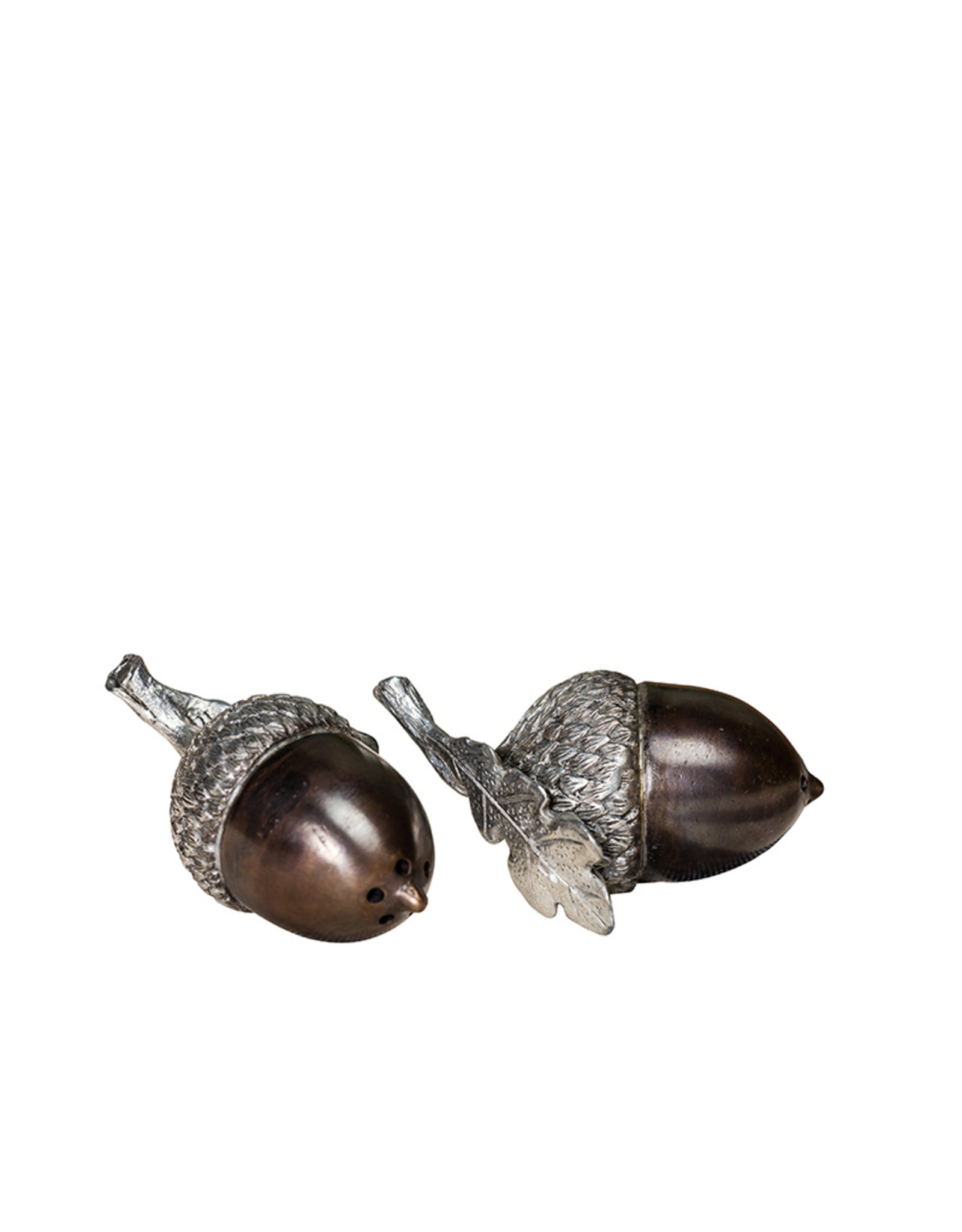 Acorn salt and pepper shaker set