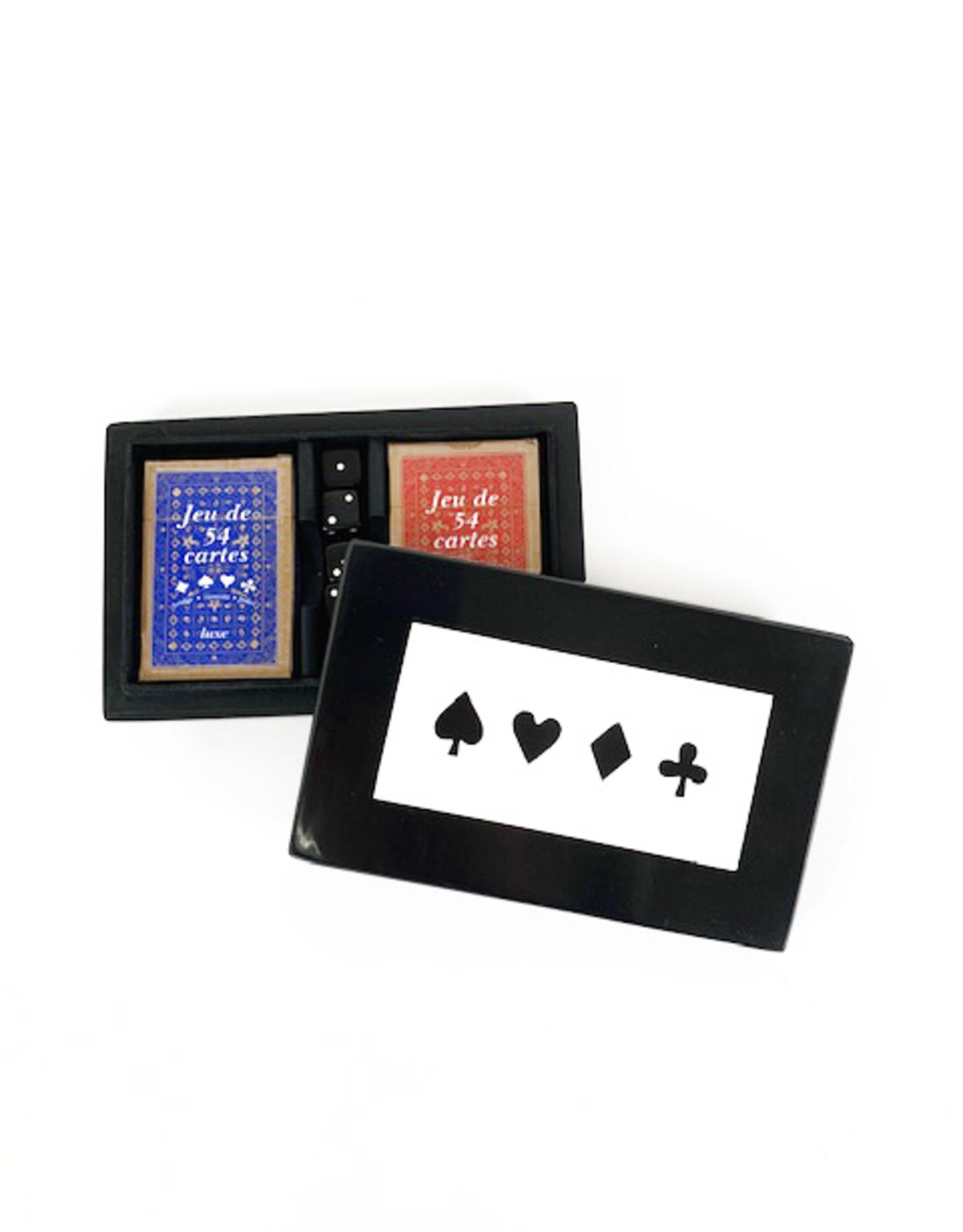 Card & dice box